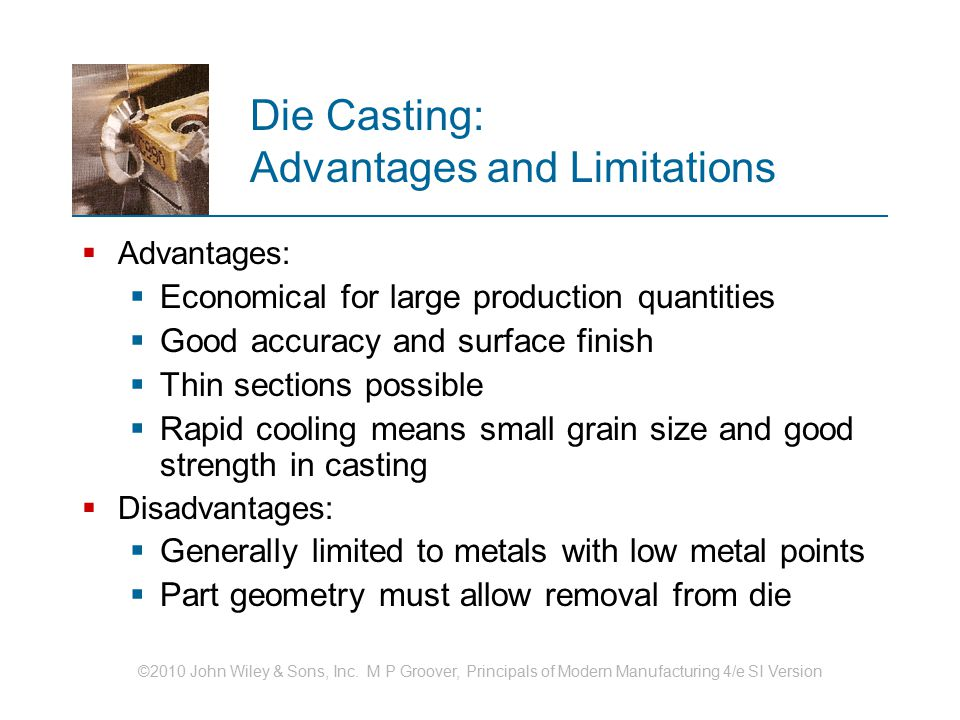 Die Casting: Advantages and Limitations