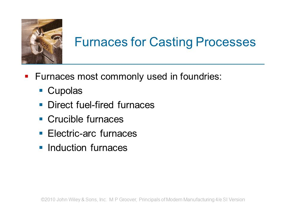 Furnaces for Casting Processes