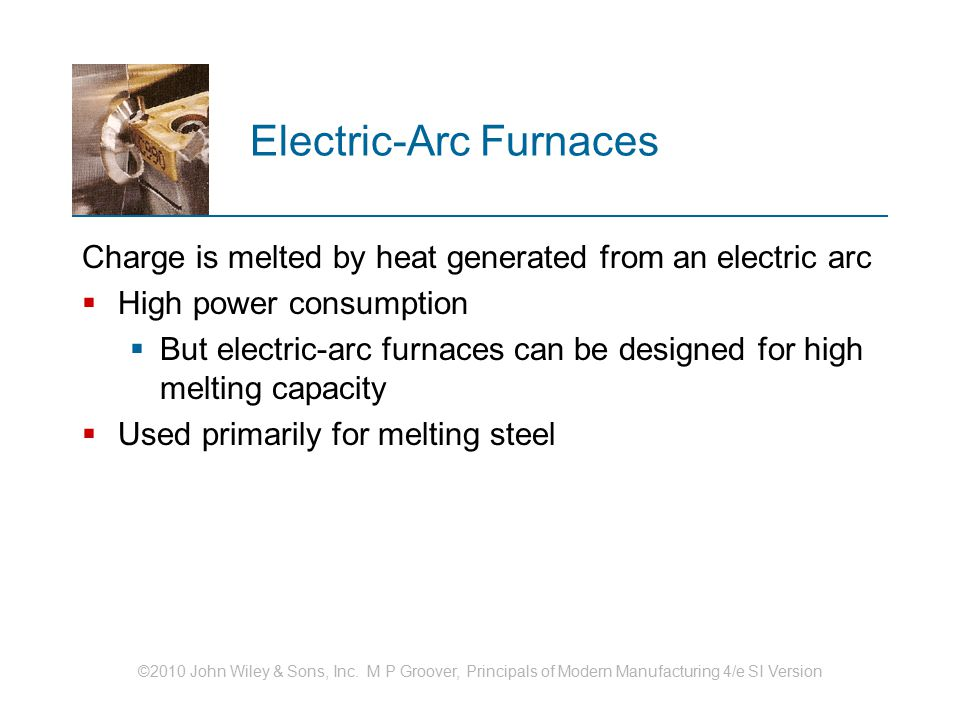 Electric‑Arc Furnaces