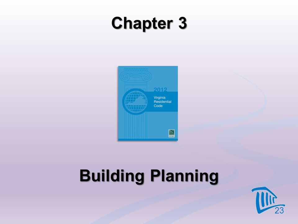 Chapter 3 Building Planning