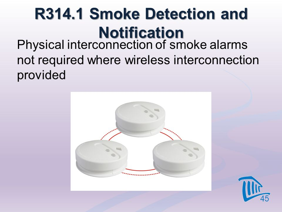 R314.1 Smoke Detection and Notification