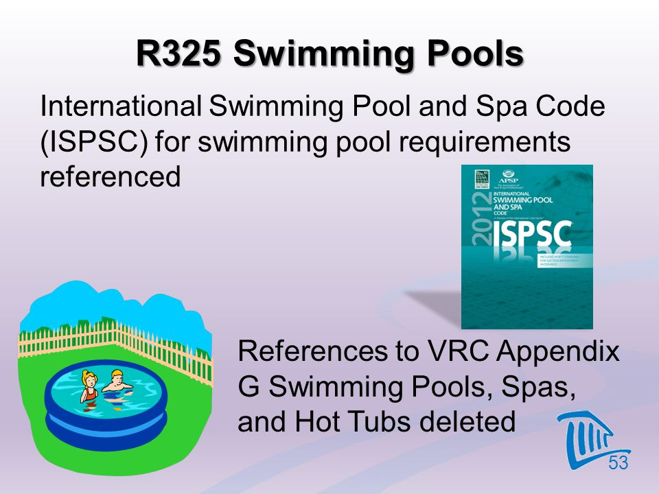 2012 virginia residential code significant code changes - Residential swimming pool regulations ...