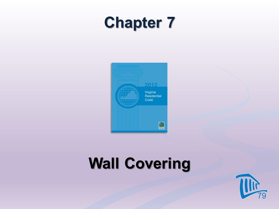 Chapter 7 Wall Covering 79