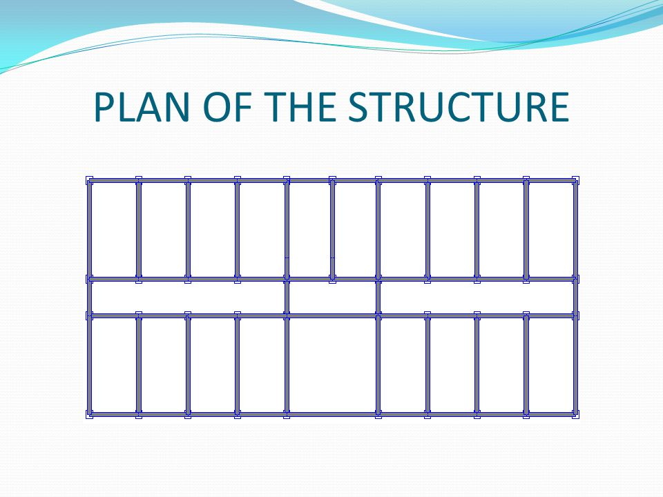 PLAN OF THE STRUCTURE