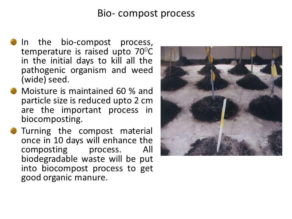 Bio- compost process
