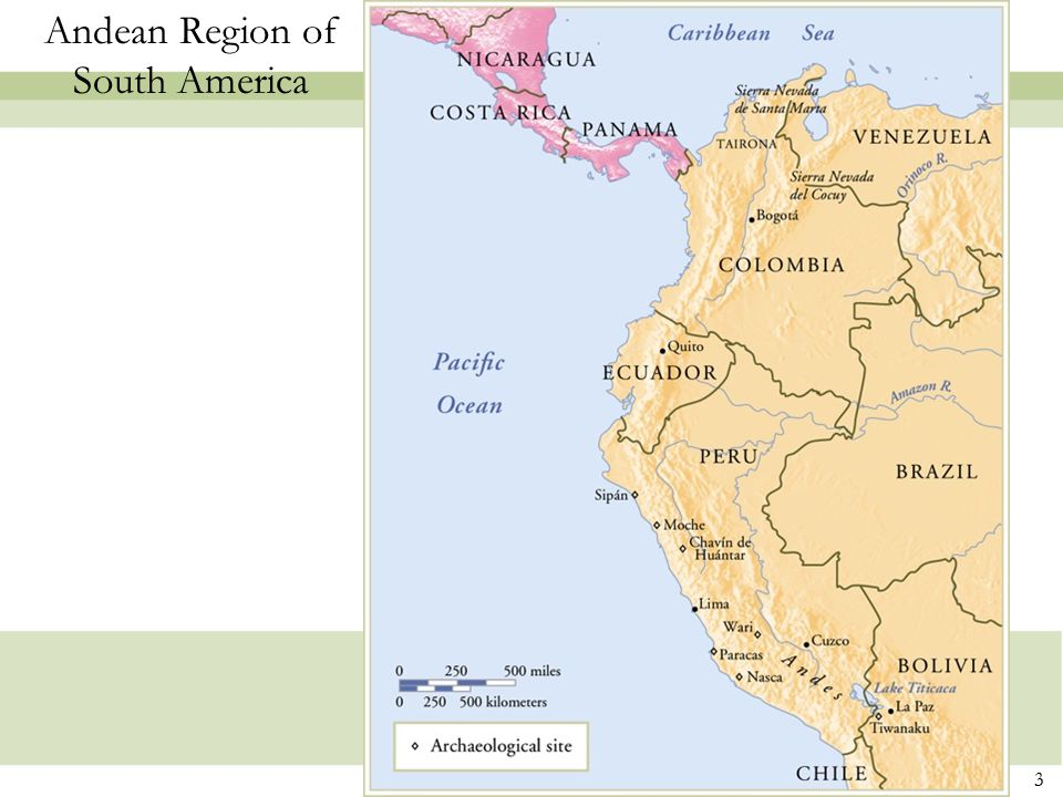 Andean Region of South America