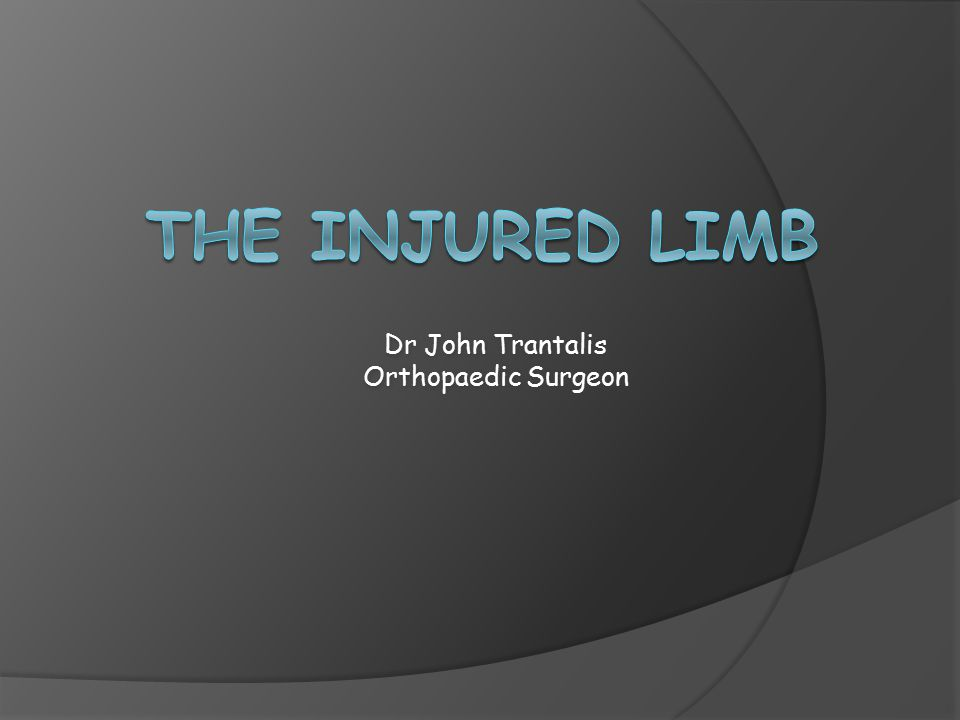 Dr John Trantalis Orthopaedic Surgeon