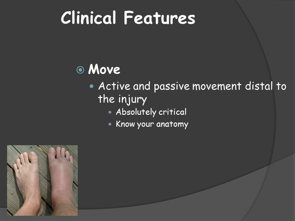 Clinical Features Move