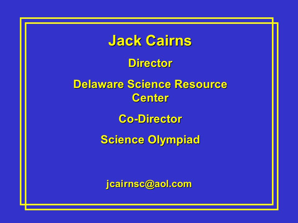 Delaware Science Resource Center