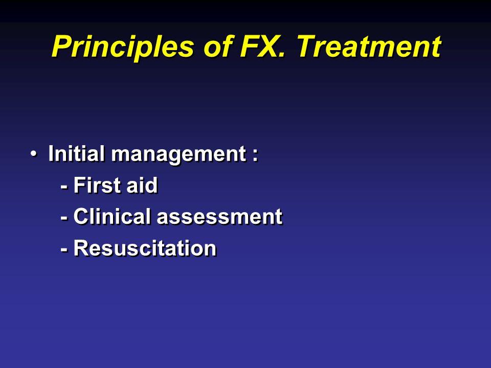 Principles of FX. Treatment