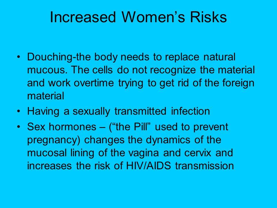 Increased Women's Risks