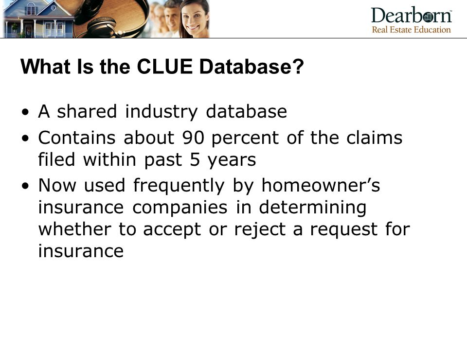 What Is the CLUE Database