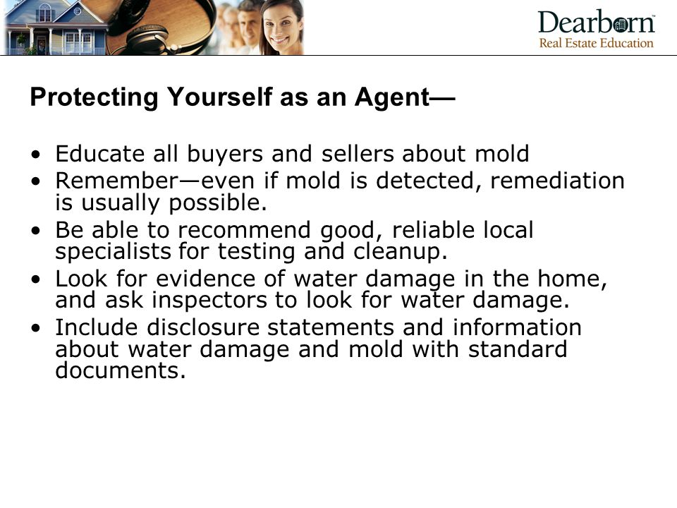 Protecting Yourself as an Agent—