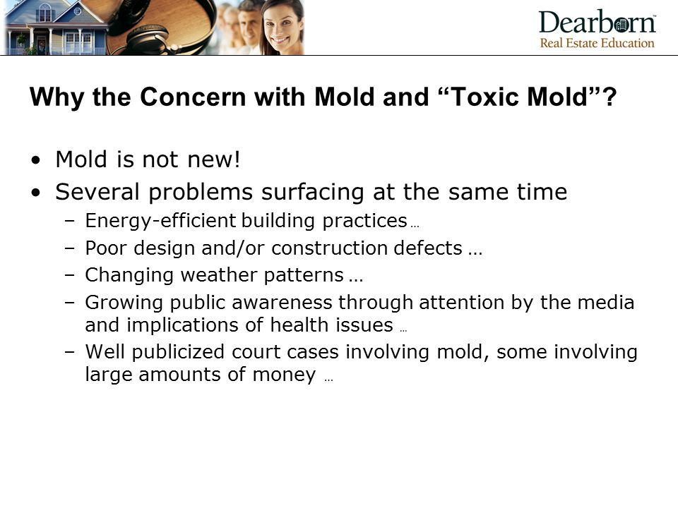 Why the Concern with Mold and Toxic Mold