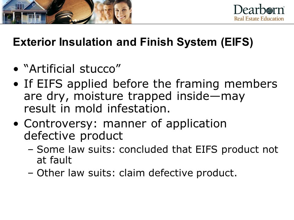 Exterior Insulation and Finish System (EIFS)