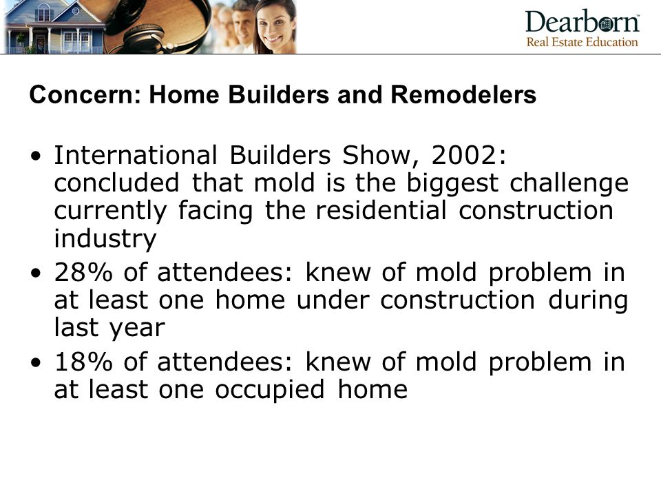 Concern: Home Builders and Remodelers