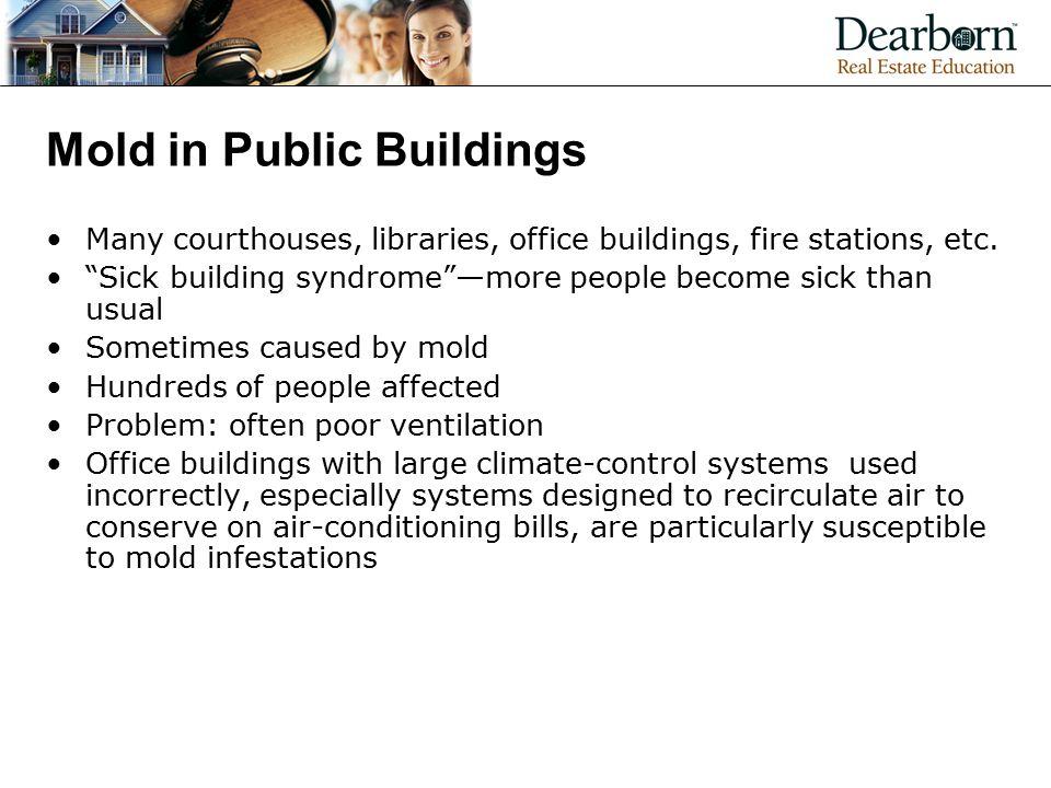 Mold in Public Buildings
