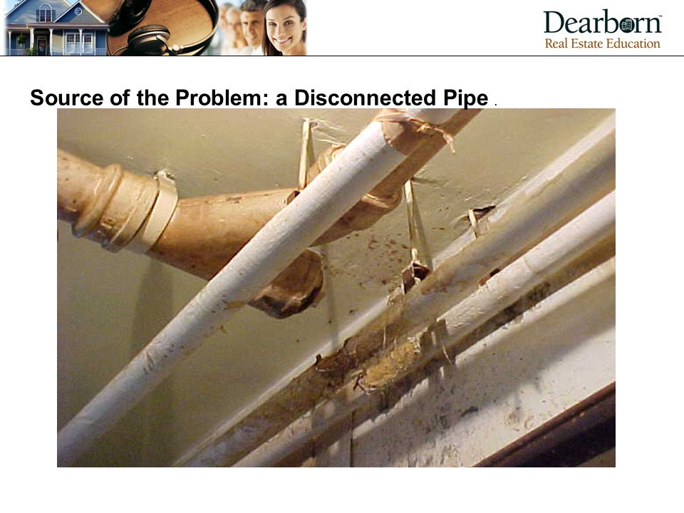 Source of the Problem: a Disconnected Pipe .