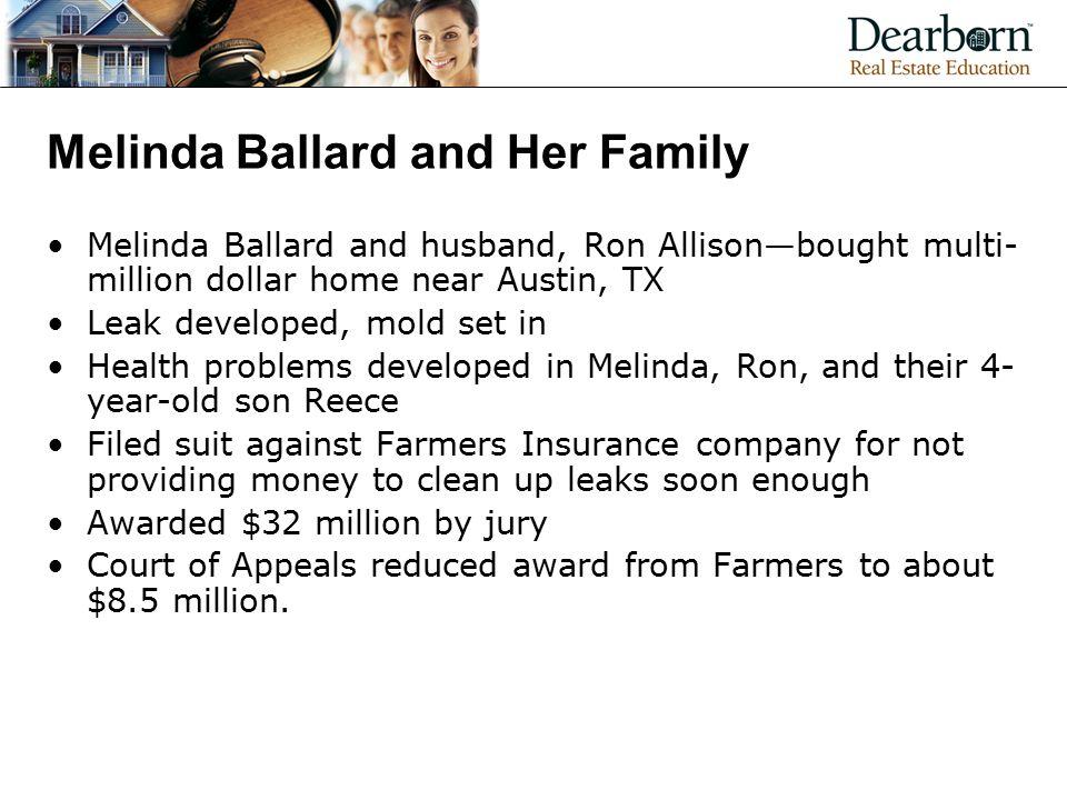 Melinda Ballard and Her Family