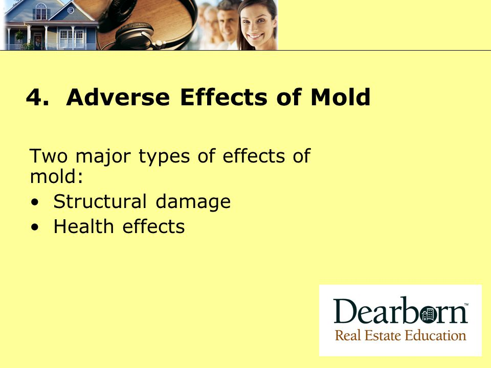 4. Adverse Effects of Mold
