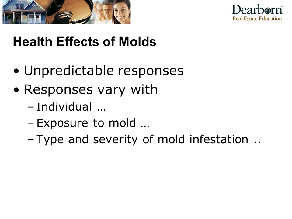 Health Effects of Molds