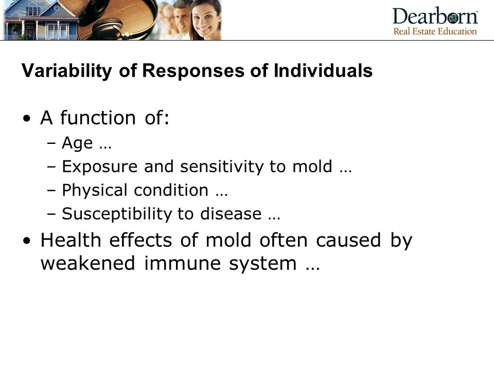 Variability of Responses of Individuals