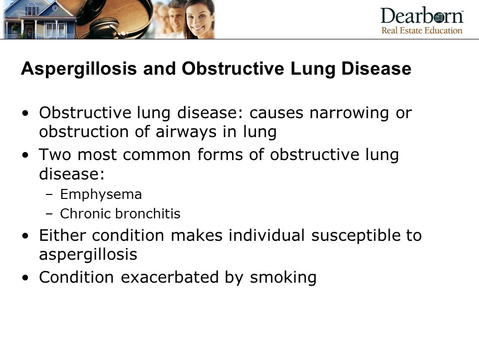 Aspergillosis and Obstructive Lung Disease