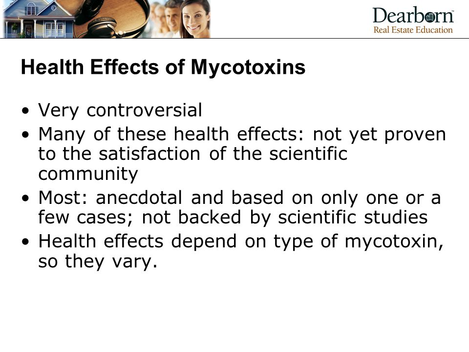 Health Effects of Mycotoxins