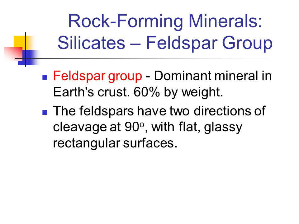 Rock-Forming Minerals: Silicates – Feldspar Group