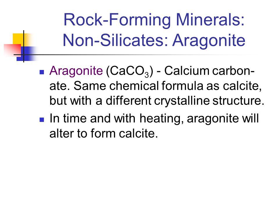 Rock-Forming Minerals: Non-Silicates: Aragonite