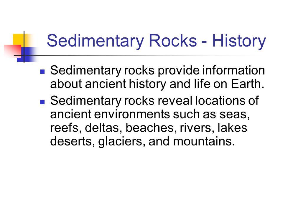 Sedimentary Rocks - History