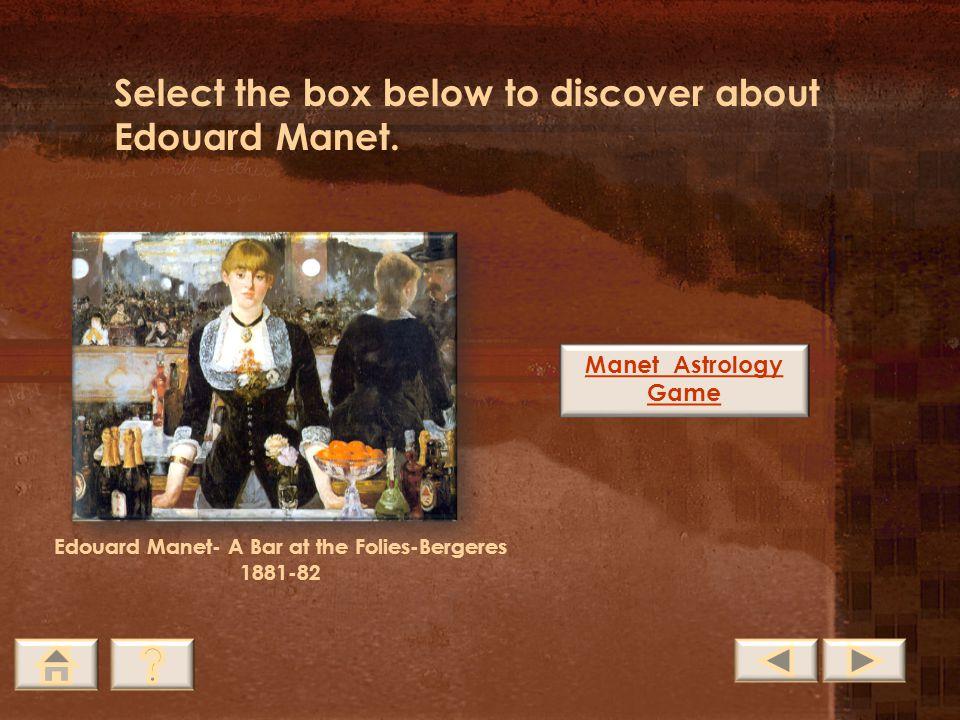 Edouard Manet- A Bar at the Folies-Bergeres 1881-82