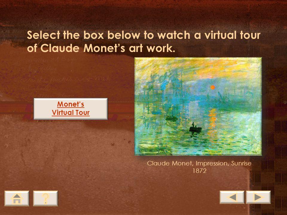 Claude Monet, Impression, Sunrise