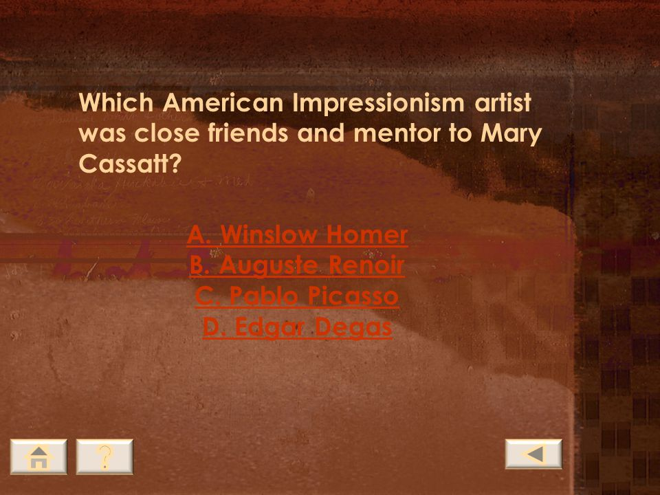 Which American Impressionism artist was close friends and mentor to Mary Cassatt