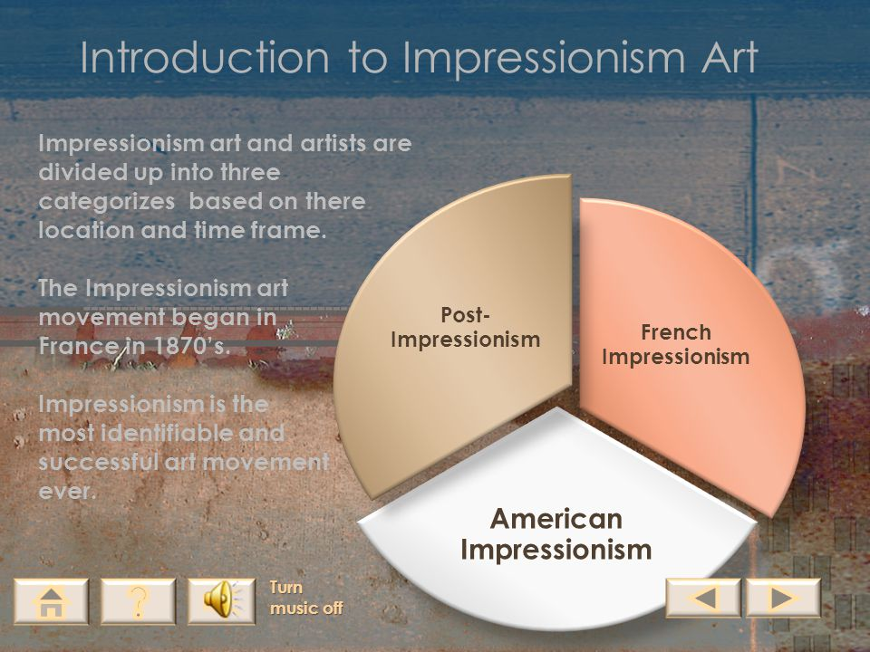 Introduction to Impressionism Art