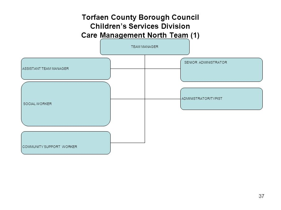 Torfaen County Borough Council Children's Services Division Care Management North Team (1)