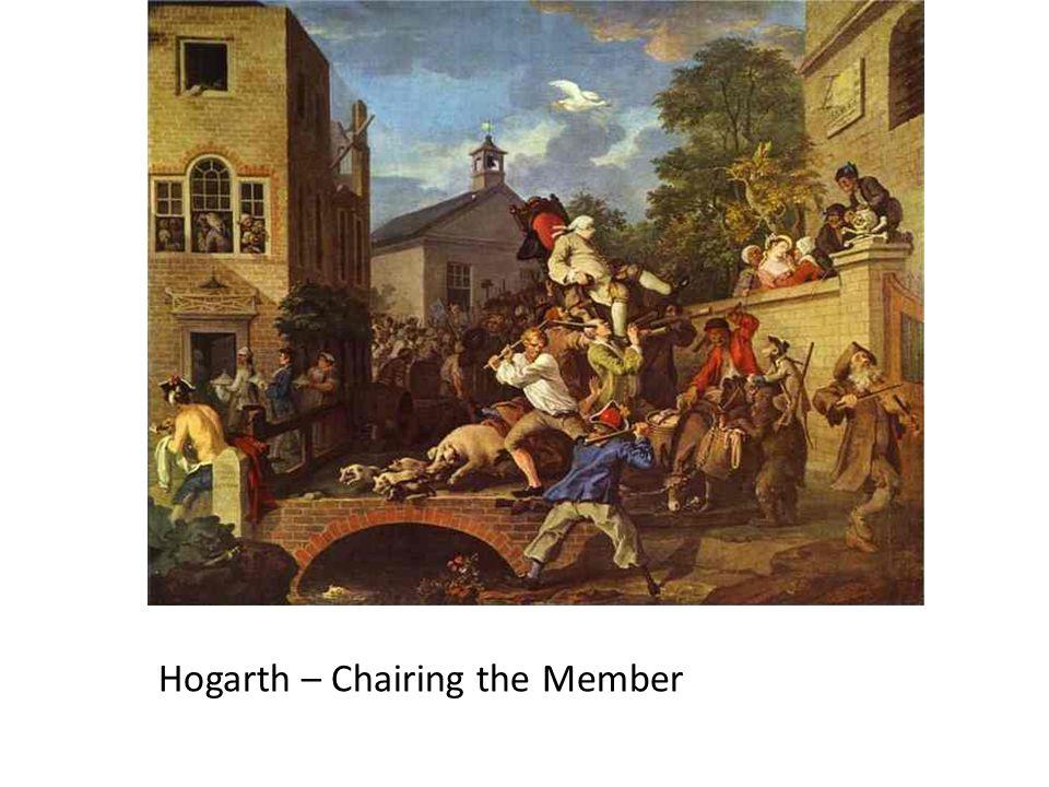Hogarth – Chairing the Member
