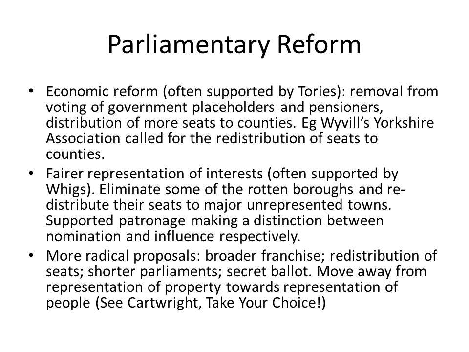Parliamentary Reform