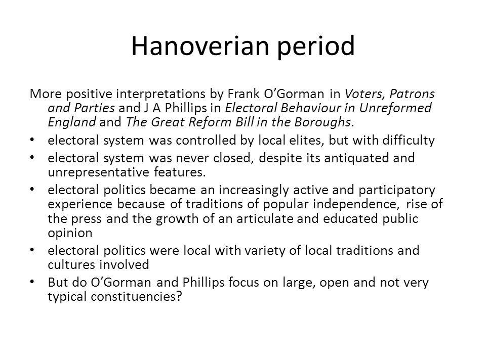 Hanoverian period