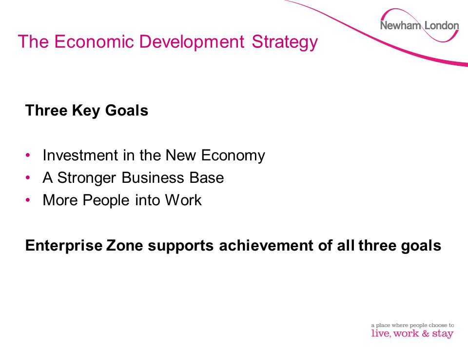 The Economic Development Strategy