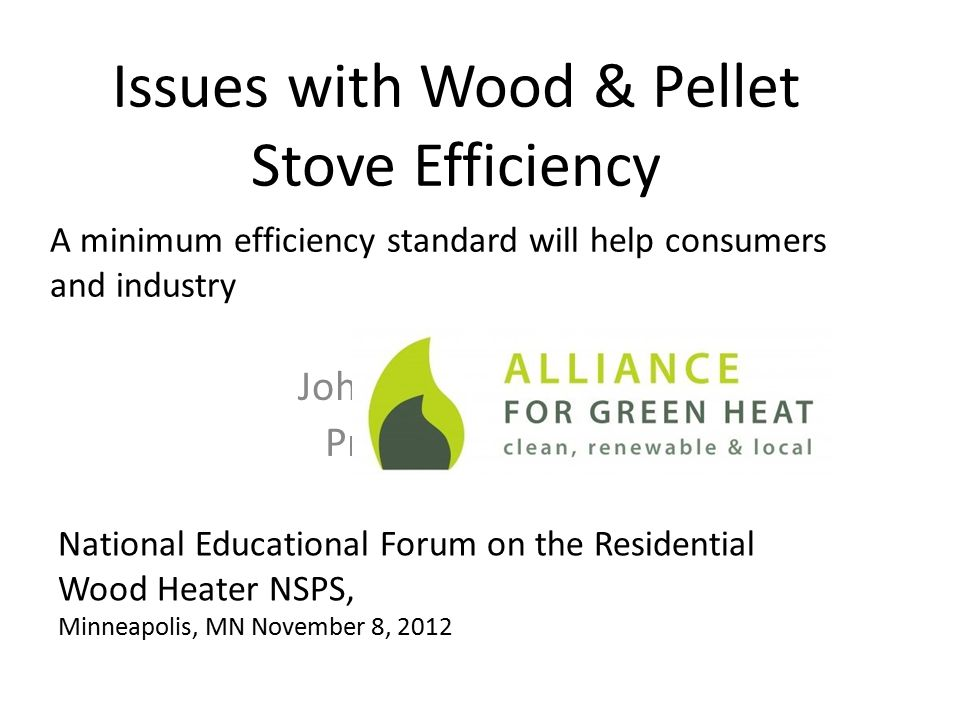 Issues with Wood & Pellet Stove Efficiency