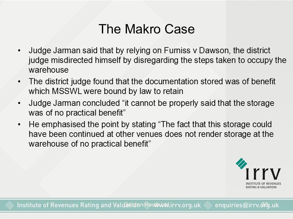 The Makro Case