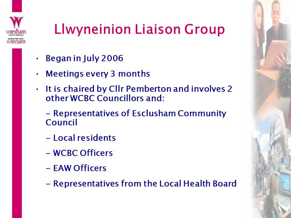 Llwyneinion Liaison Group