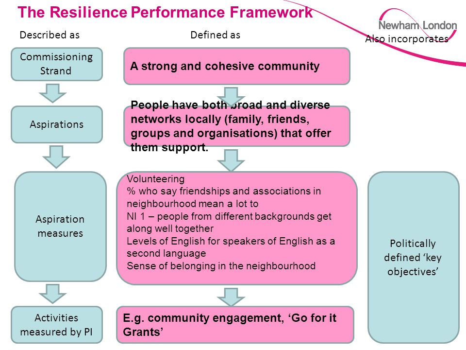 The Resilience Performance Framework