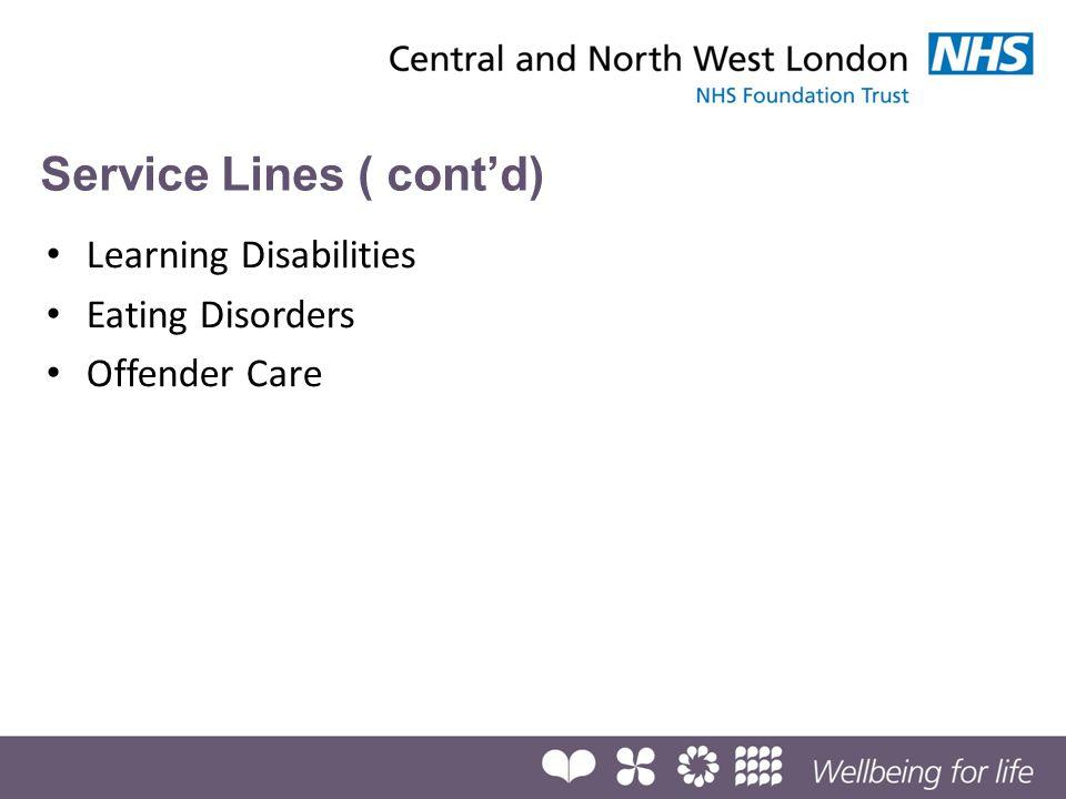 Service Lines ( cont'd)