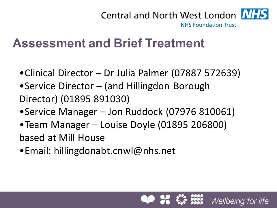 Assessment and Brief Treatment