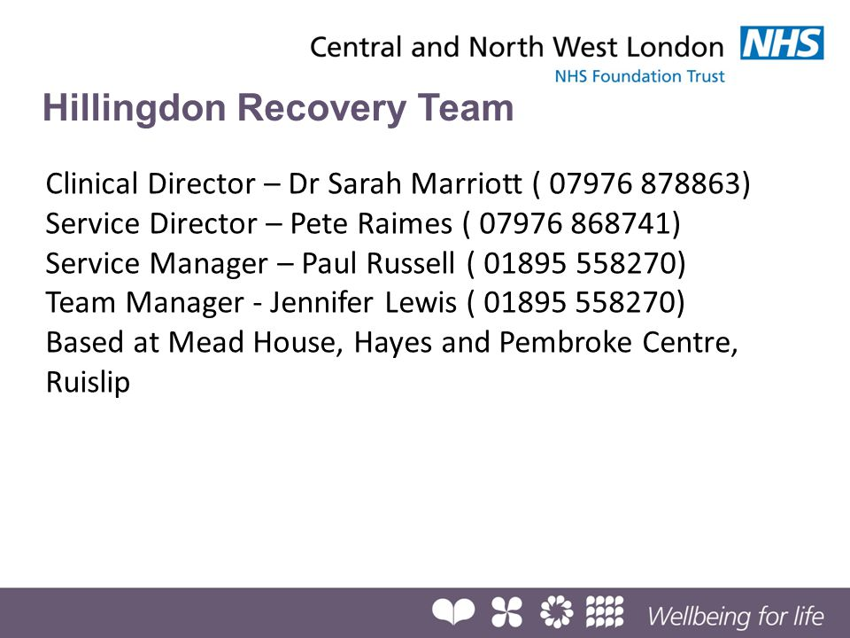 Hillingdon Recovery Team