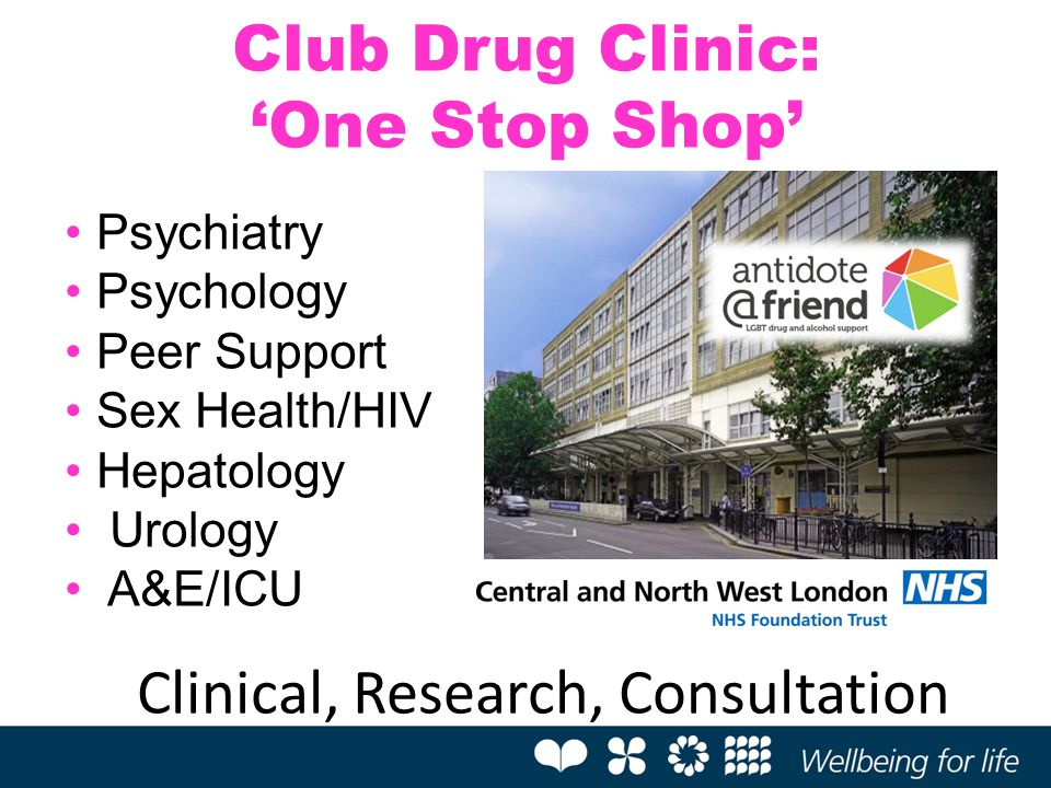 Club Drug Clinic: 'One Stop Shop'