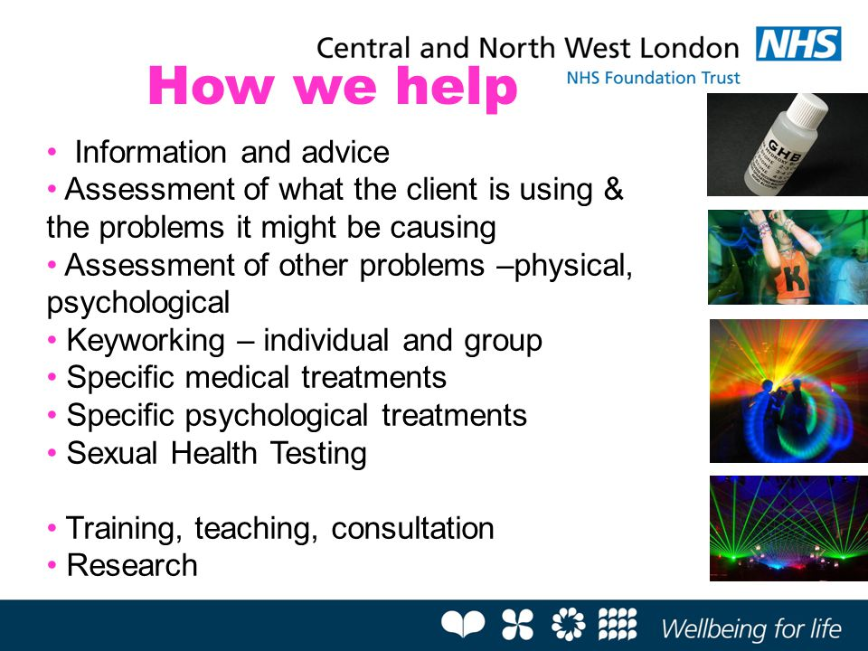 How we help Information and advice