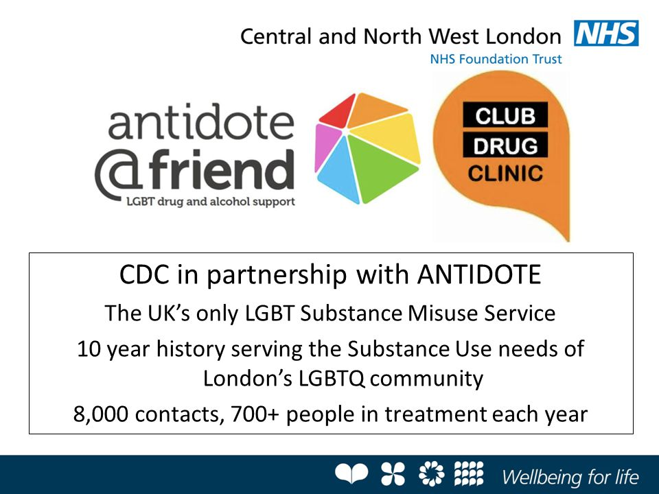 CDC in partnership with ANTIDOTE